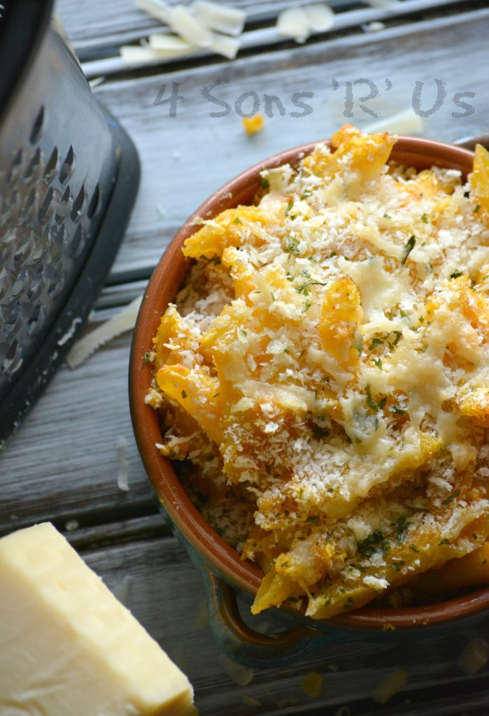 Pumpkin White Cheddar Macaroni And Cheese