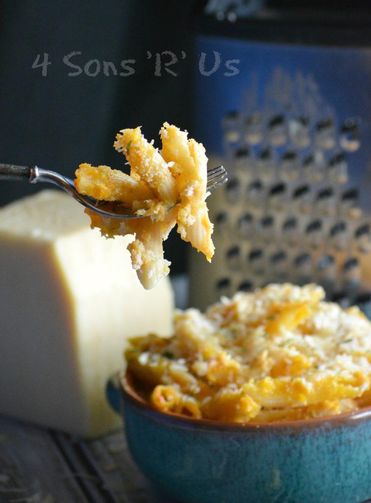 Pumpkin White Cheddar Macaroni And Cheese