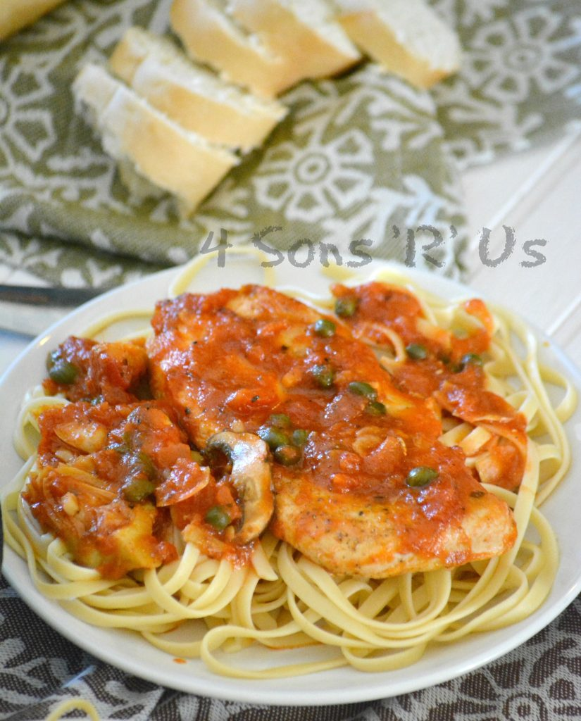 6 Ingredient Tuscan Chicken