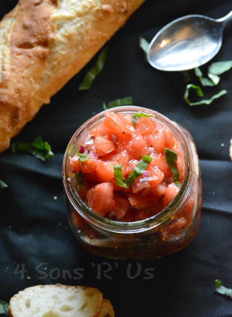 Italian Bruschetta Style Salsa