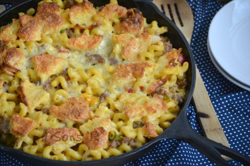 Breakfast Mac And Cheese