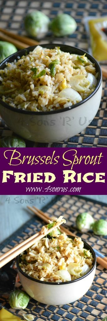 Brussels Sprout Fried Rice