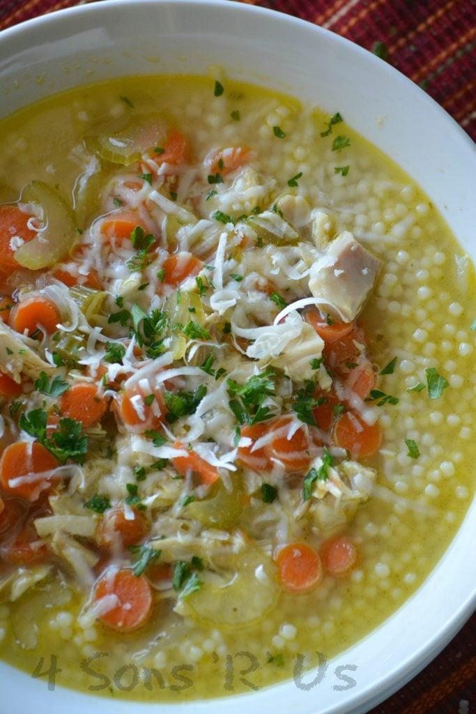 Nonna's Italian Style Chicken Noodle Soup