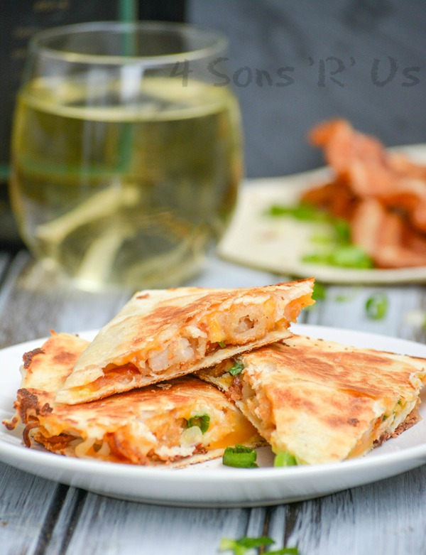Shrimp & Bacon Quesadillas