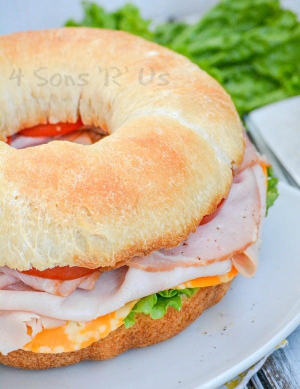 Cold Cut Bundt Pan Sub Sandwich