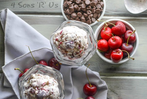 Copy Cat Ben & Jerry's Cherry Garcia Ice Cream