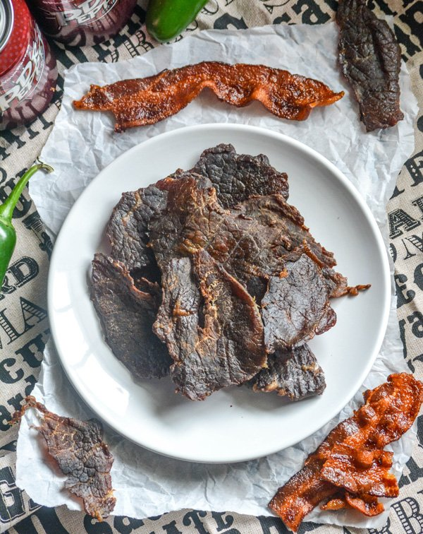 Dr Pepper Jalapeno Smoked Beef Jerky
