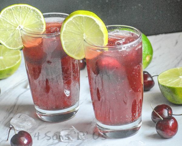 Sweet Black Cherry Limeade