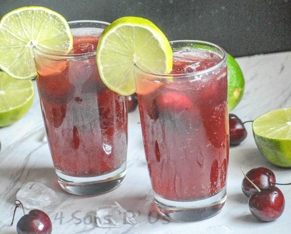 Sweet Black Cherry Limeade