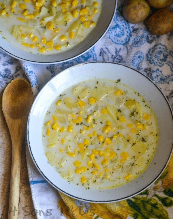 Corn Off The Cob Soup