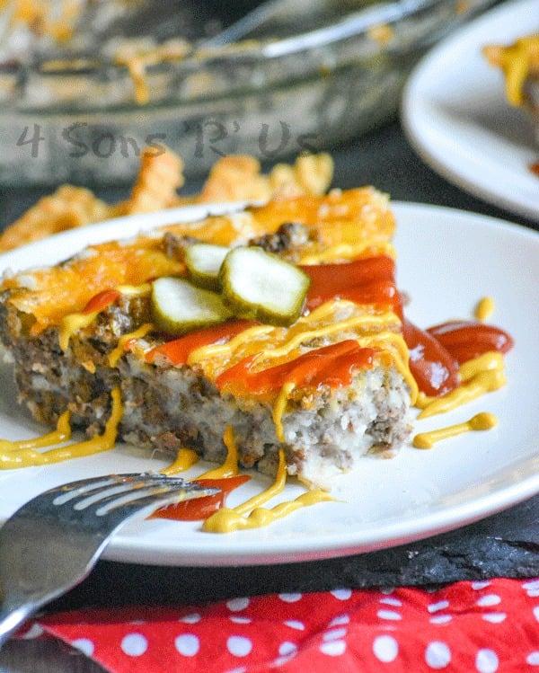 Grandma's Easy Cheeseburger Pie