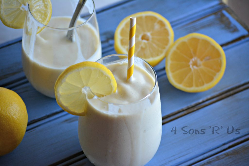 Copy Cat Chick Fil A Frosted Lemonade