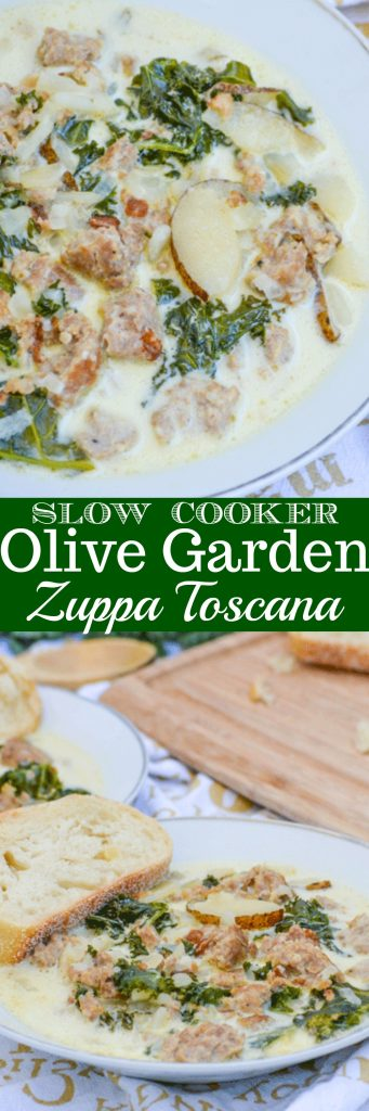 Slow Cooker Copy Cat Olive Garden Zuppa Toscana - 4 Sons \'R\' Us