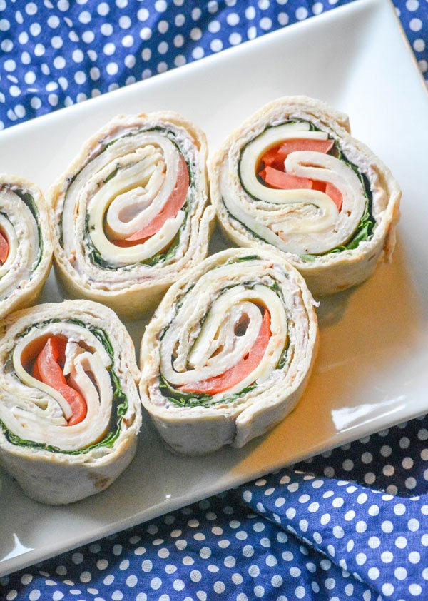 Copy Cat Costco Turkey Swiss Pinwheels