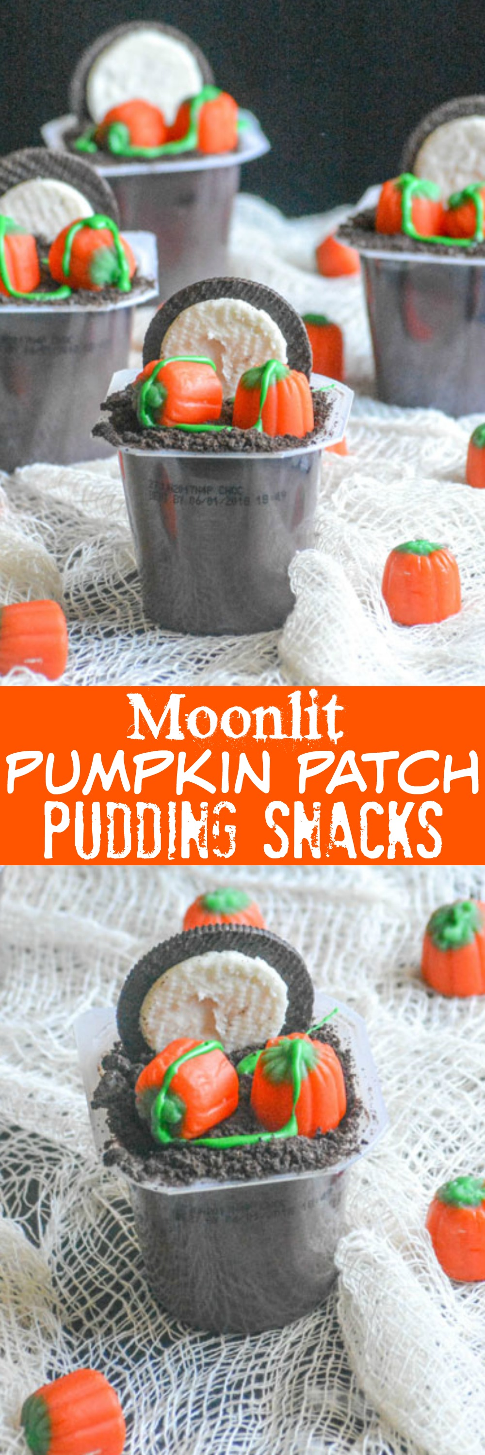 Looking for an easy way to infuse some fun into your kids' afternoon snack? These Moonlit Pumpkin Patch Pudding Snacks are fun, festive, and a great way to get everyone excited for Halloween. Just like your annual visit to the pumpkin patch, these yummy pudding cups are meant to be shared.