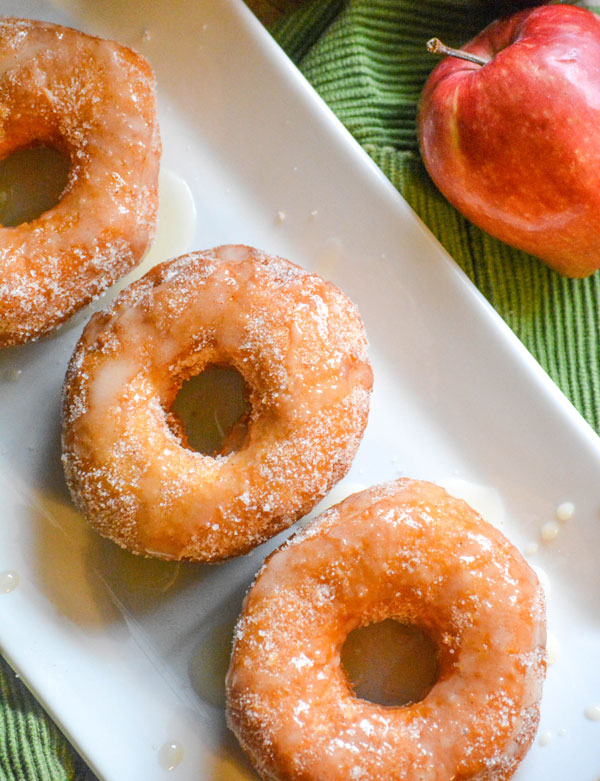 Quick & Easy Apple Cider Glazed Donuts