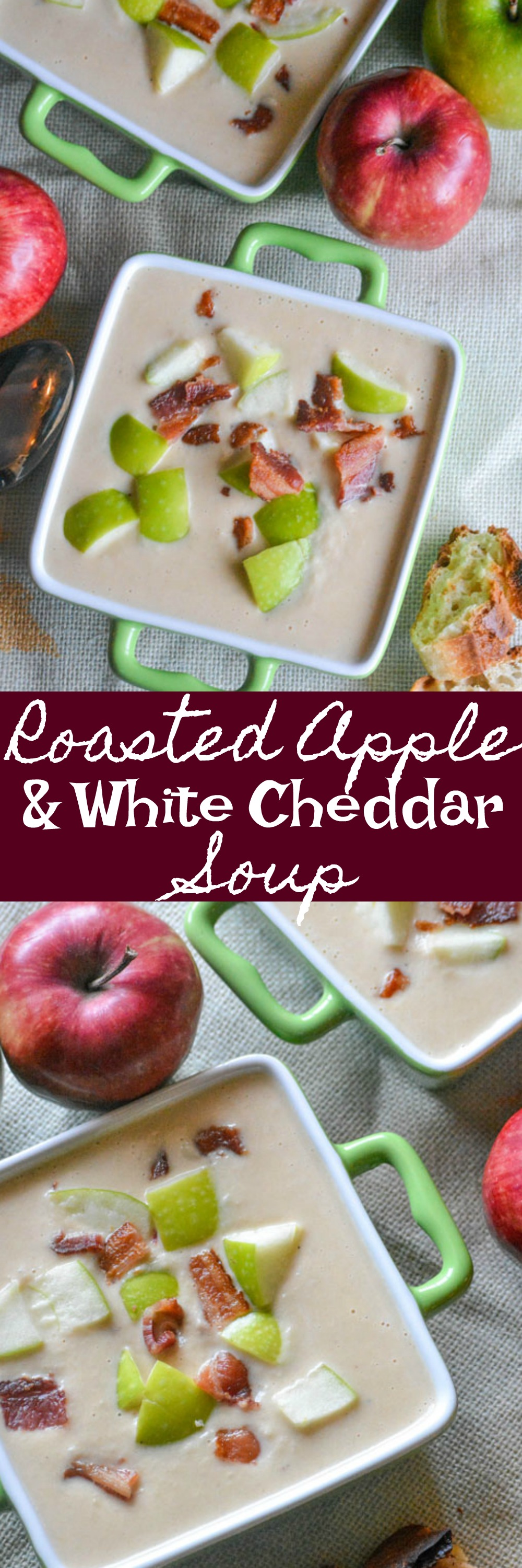 Soup may not be on everyone's must make list as soon as Fall rolls around, but apple recipes usually are. Combine the two by going with the classic sweet & savory pairing in this Roasted Apple & White Cheddar Soup. It's a new way to throw all your favorite seasonal flavors into one perfect dish.