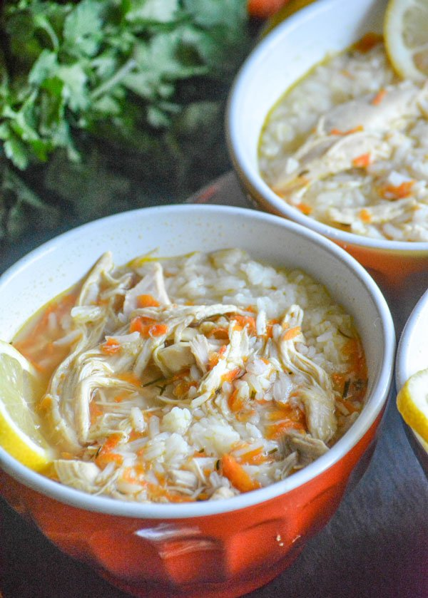 Copy Cat Taziki's Greek Lemon Chicken Soup