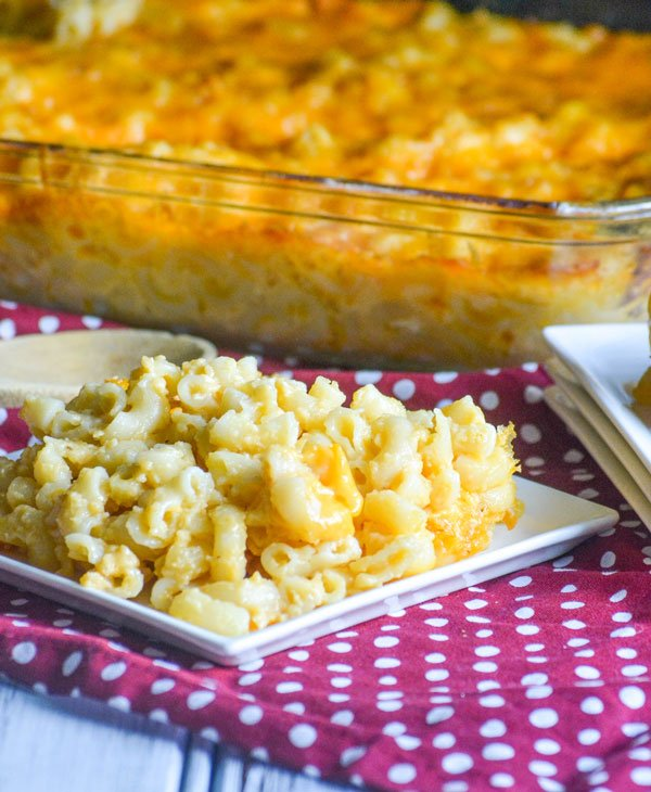 Southern Homestyle Mac And Cheese