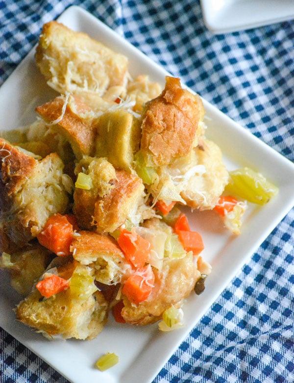 Mid-Atlantic Seafood Stuffing