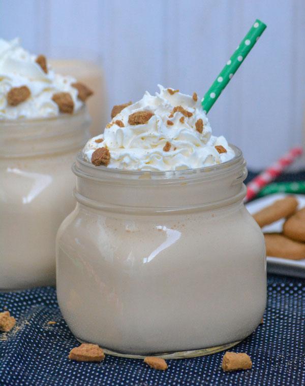 Gingerbread Eggnog Milkshakes