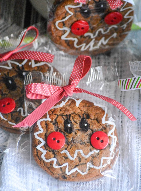 Gingerbread Girl Packaged Oatmeal Cream Pies