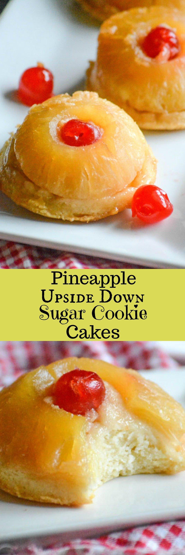 Pineapple Upside Down Sugar Cookie Cakes 4 Sons R Us