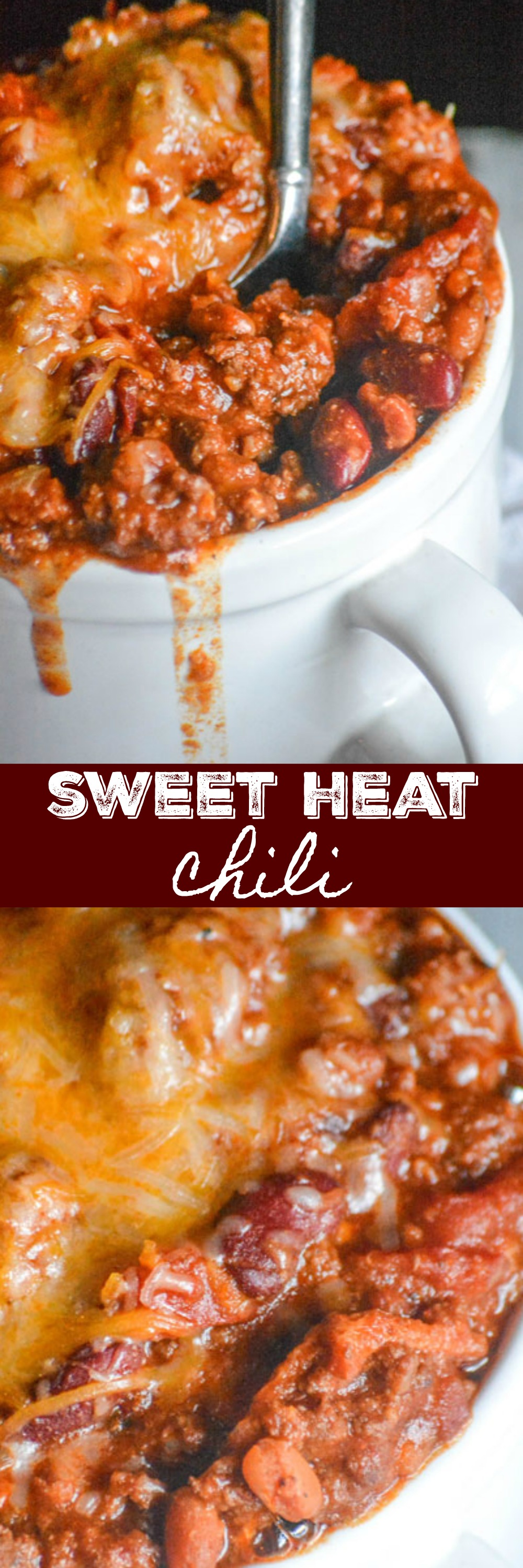 A hearty dish that beautifully blends savory spices with sweet flavor notes, this Sweet Heat Chili is a quick & easy Winter meal by the bowlful. One pot is all you need making it perfect for any crowd, be it a family dinner or feeding hungry fans on game day.