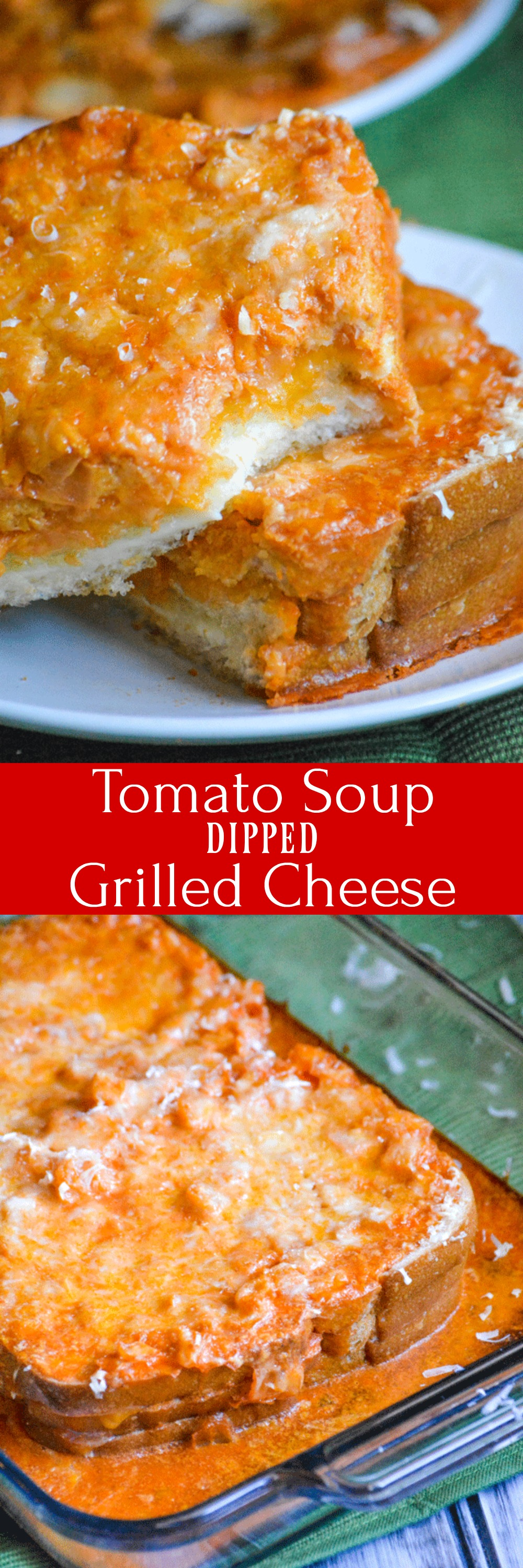 Tomato soup & grilled cheese are a classic pairing, and a go-to childhood favorite for so many of us. Bring it up to date with these Tomato Soup Dipped Grilled Cheese Sandwiches. Less mess, no leftovers, and ALL the flavor!