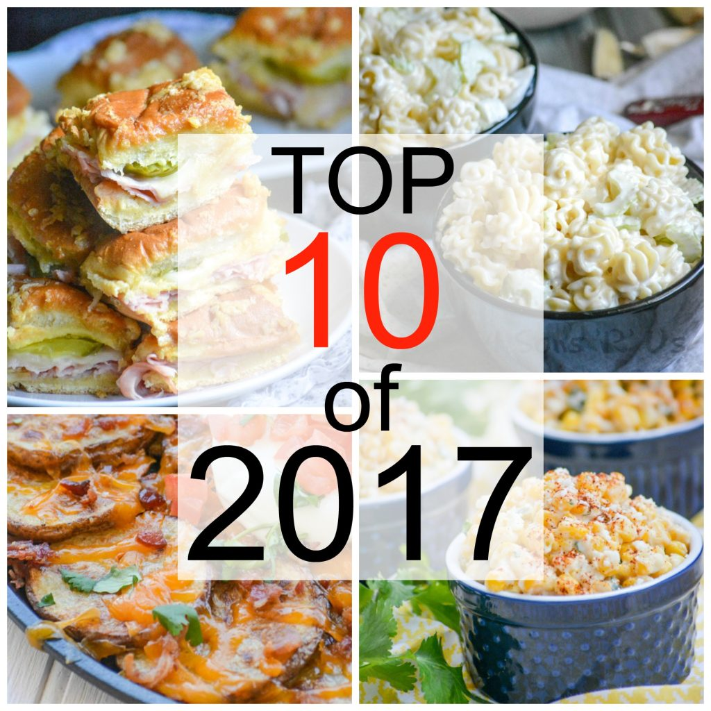 Our Top 10 Most Popular Recipes of 2017