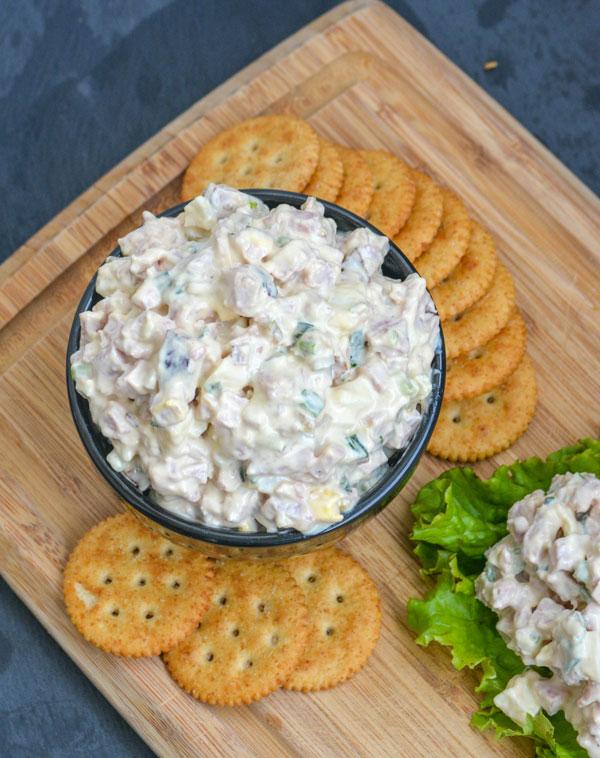 Creamy Dijon Ham Salad