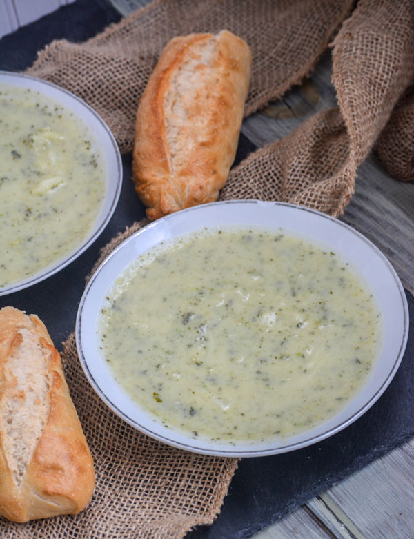 Irish Colcannon Potato Soup