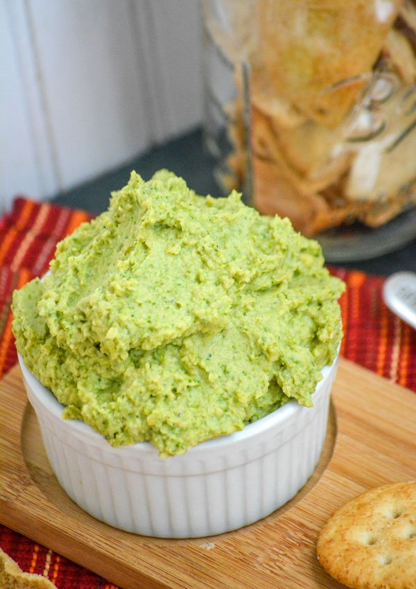 Homemade Broccoli Hummus