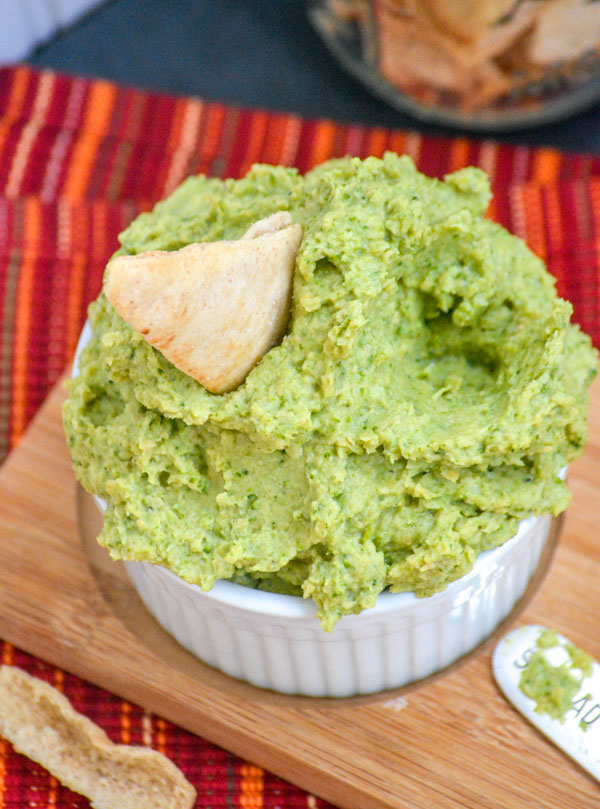 Homemade Broccoli Hummus