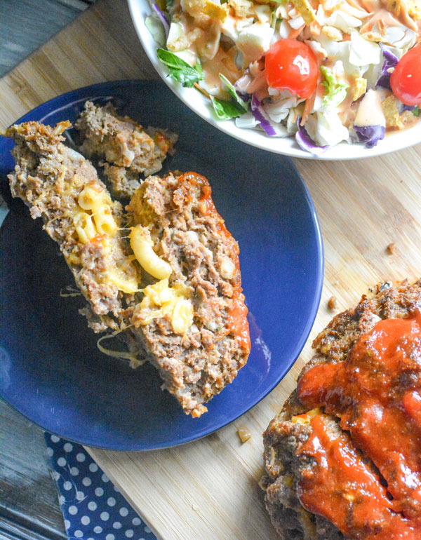 Stuffed Honey Barbecue Meatloaf