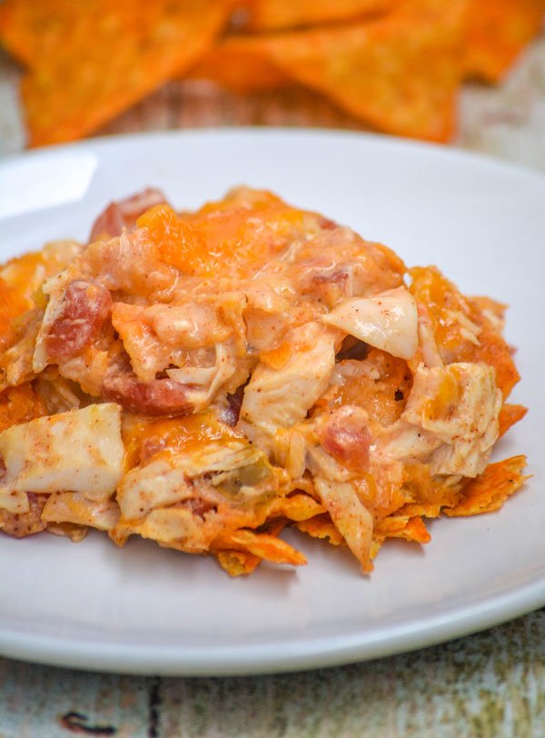 Cheesy Chicken Doritos Casserole