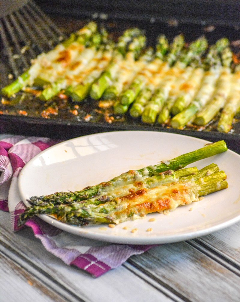 Roasted Sheet Pan Asparagus