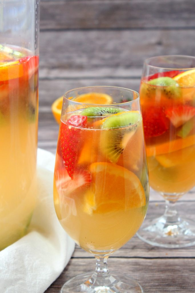 Tropical White Wine Sangria