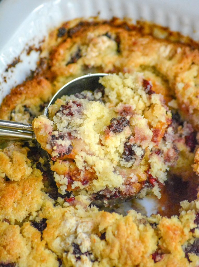 Dump & Bake Blackberry Cobbler