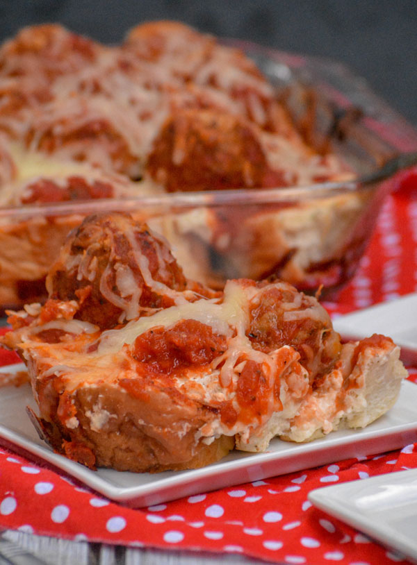 Meatball Sub Sandwich Casserole