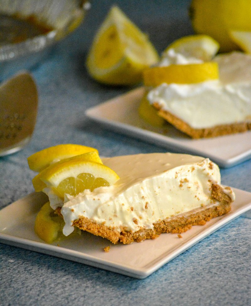 No Bake Lemonade Pie