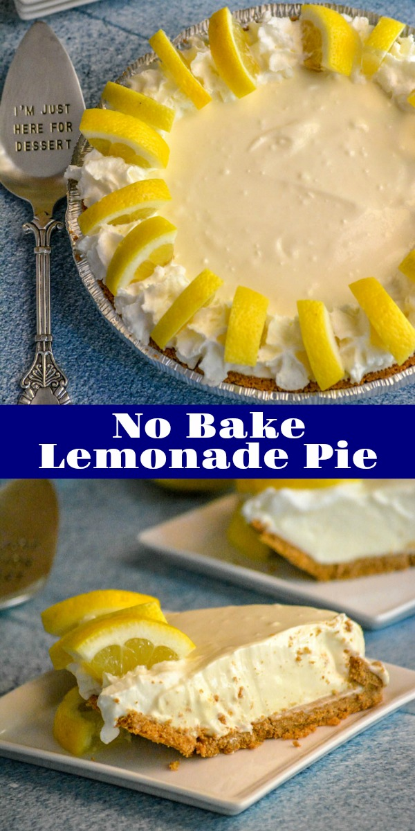 A creamy refreshing dessert, this vintage No Bake Lemonade Pie is quick, easy, and a real crowd pleaser. Serve your family & friends a slice of Summer on a plate.
