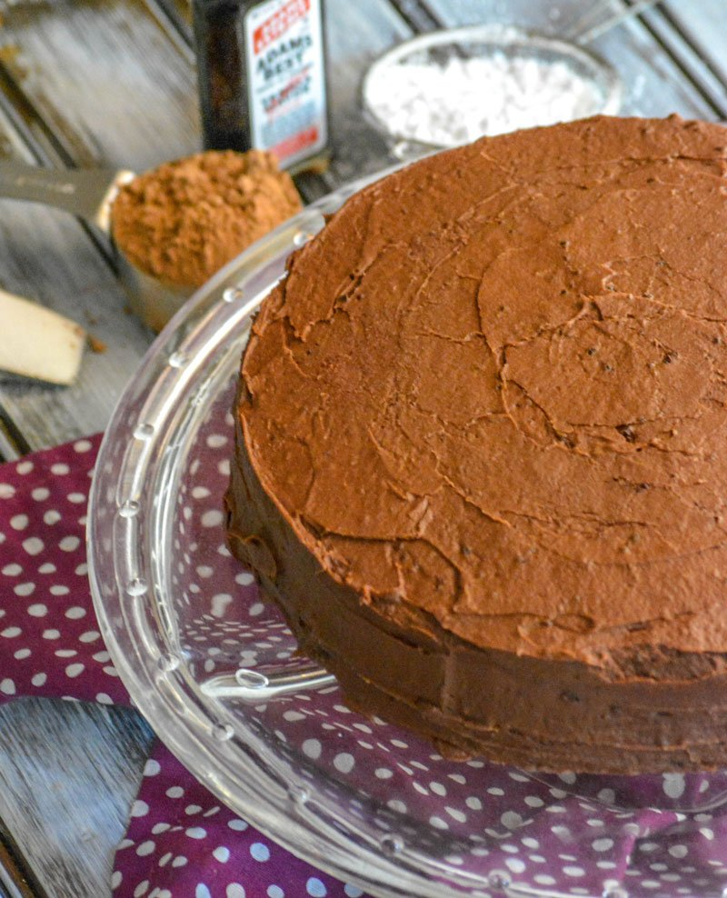 Old Fashioned Chocolate Church Cake