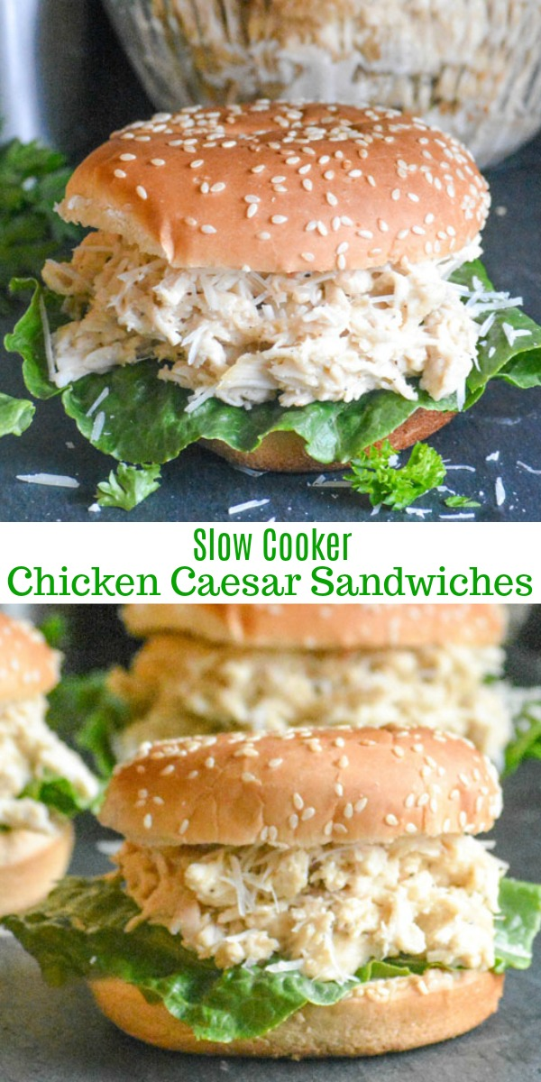 Move over chicken salad, there's a new Summer sandwich in town. These easy, creamy Slow Cooker Hot Chicken Caesar Sandwiches are full of flavor and a cinch to pull together even on the busiest days.