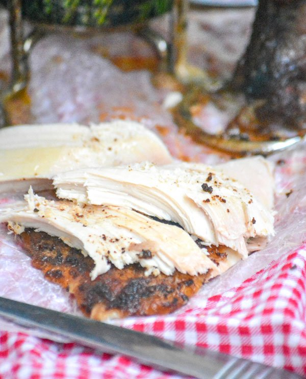 Smoked Hard Cider Beer Can Chicken
