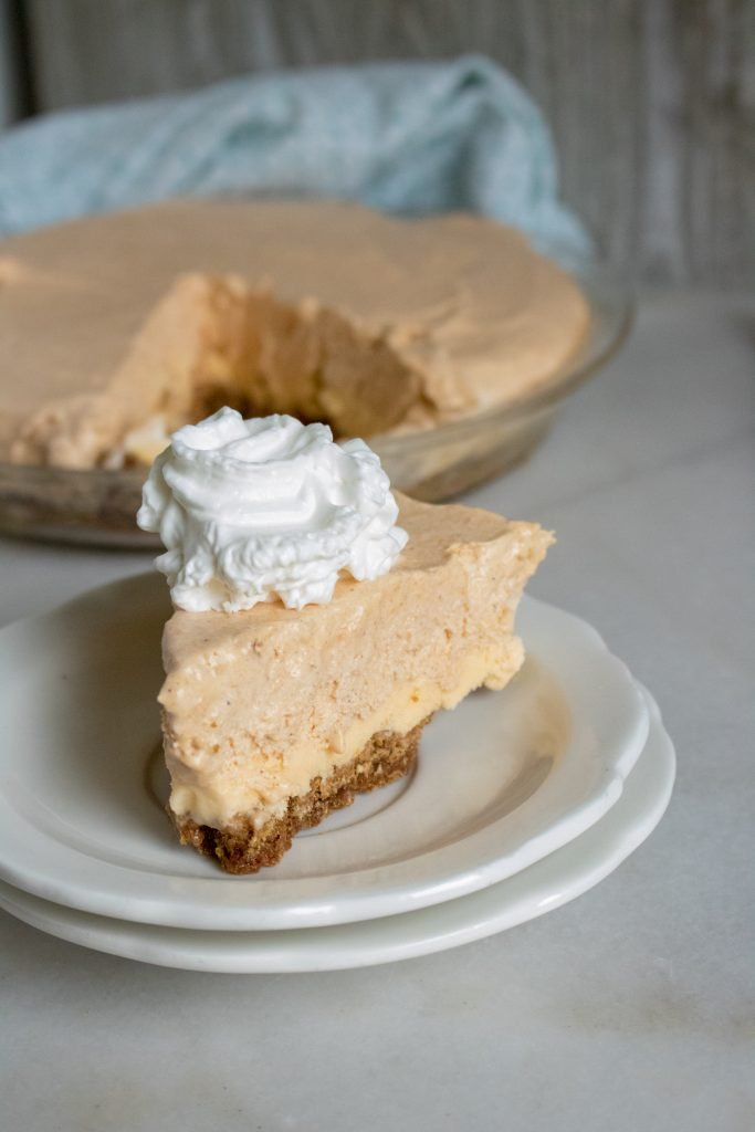 Pumpkin Ice Cream Pie