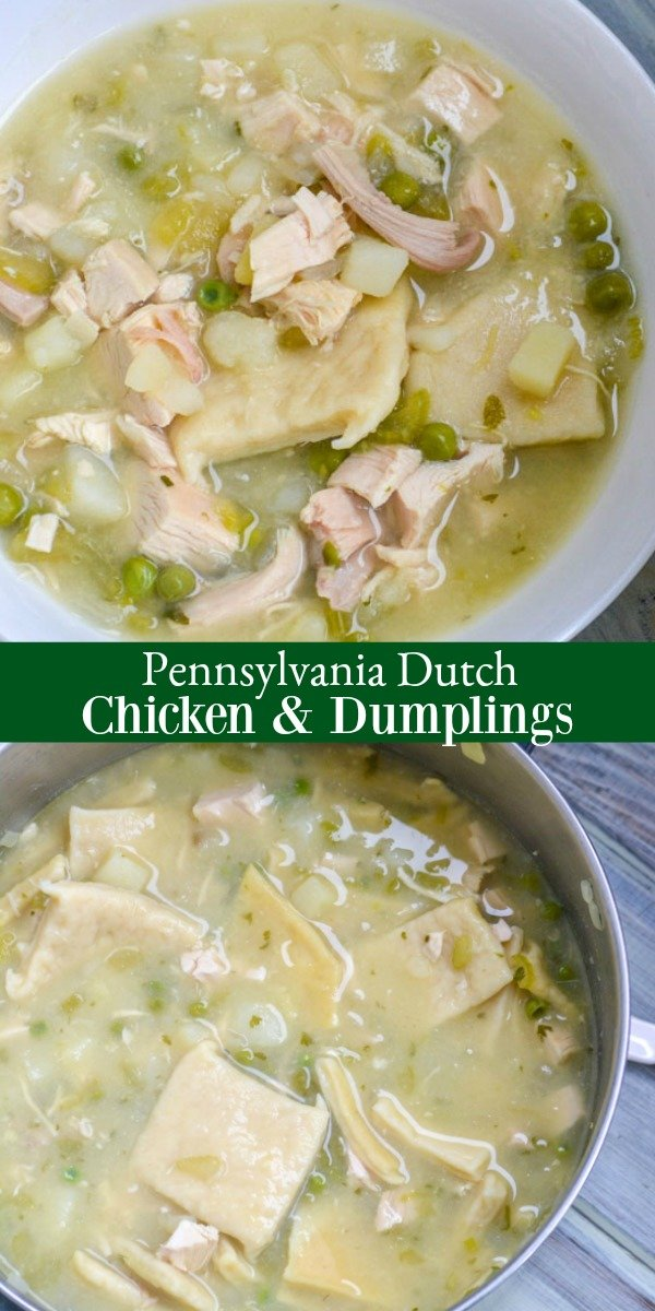 This delicious throwback might have you reconsidering your chicken pot pie. Pennsylvania Dutch Chicken & Dumplings is the original, and the other's just a cheap knock off. Serve a Southern-style dinner your family will love with this tasty treat.