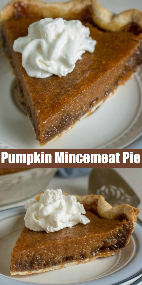 A sweet and savory dessert, this dish blends two old-fashioned favorites into one Pumpkin Mincemeat Pie. Revive a classic, with this sweet & savory pie baked in a golden, flaky crust.