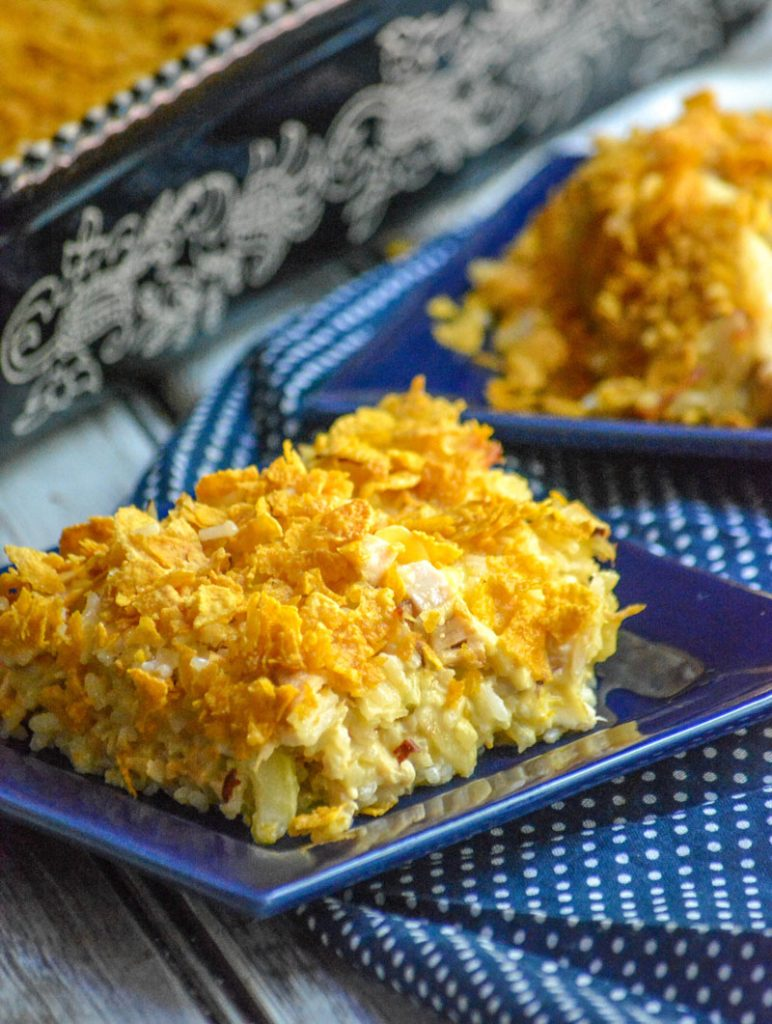 Rotisserie Chicken & Rice Casserole