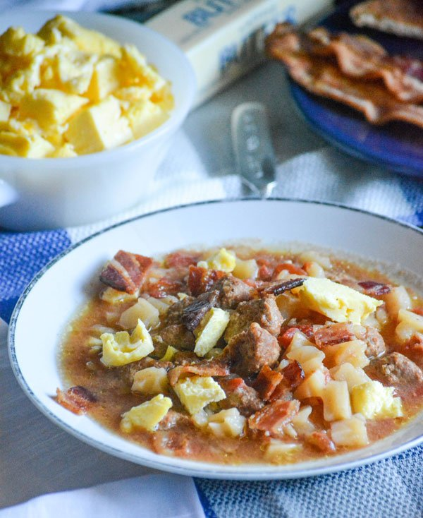 Slow Cooker Breakfast Soup
